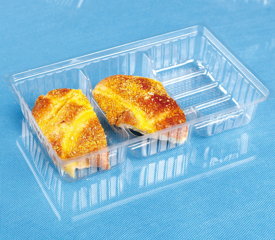 facrory OEM disposable food package clear PP cake tray