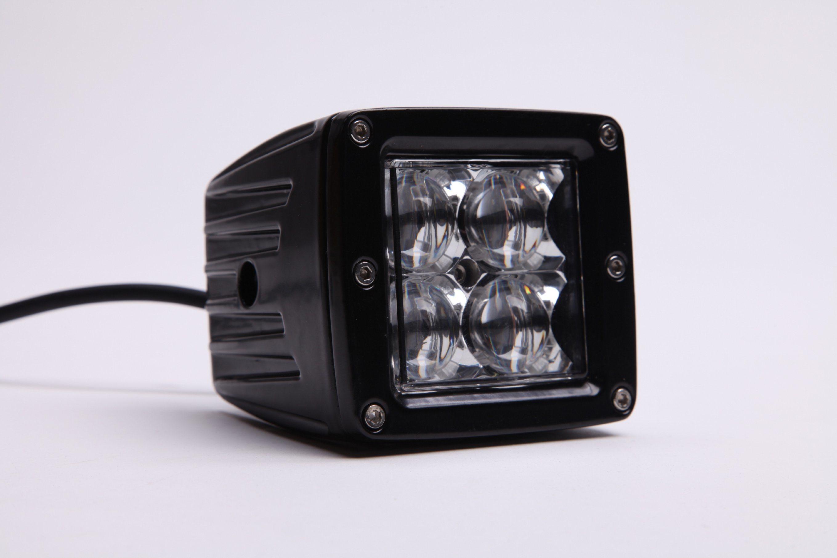 4inch LED Working Pod Light Trucks Cars ATV E-MARK R10 R23