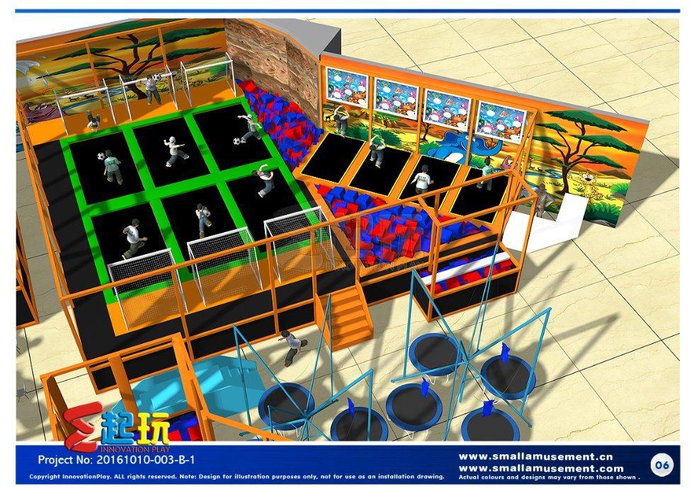 Innovation Play of Trampoline Park