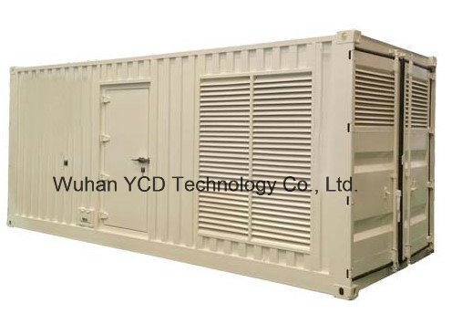 Silent Series Generator Sets (Container Series) for Mining / Construction Site / Oil Drilling Site / Large Shopping Malls