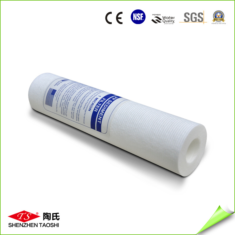 GAC Granular Activated Carbon Black Filter Cartridge