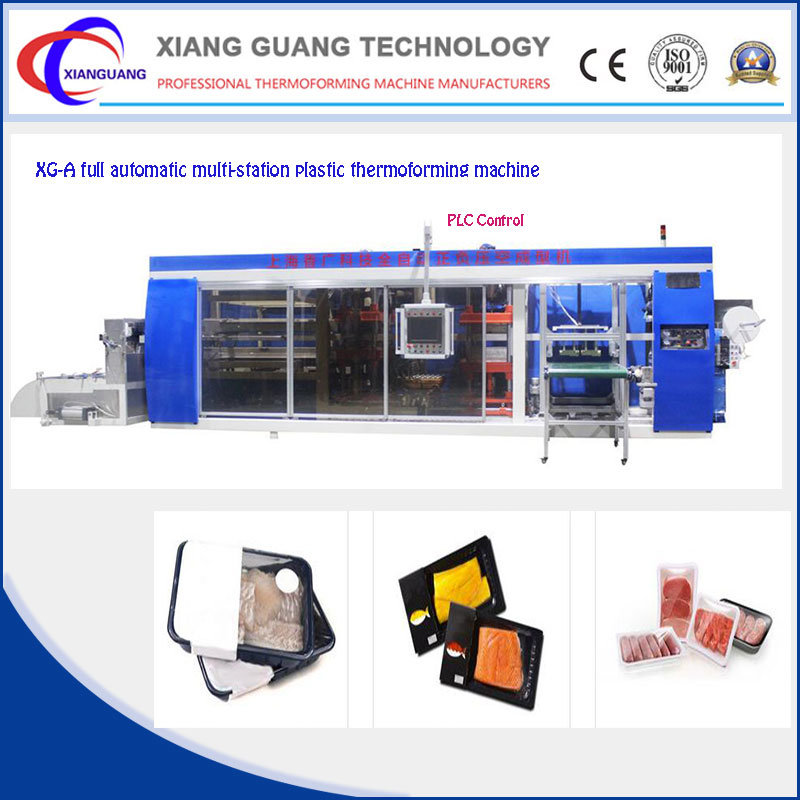 Plastic Machine Used for Thermoforming Cosmetic Blister Packing