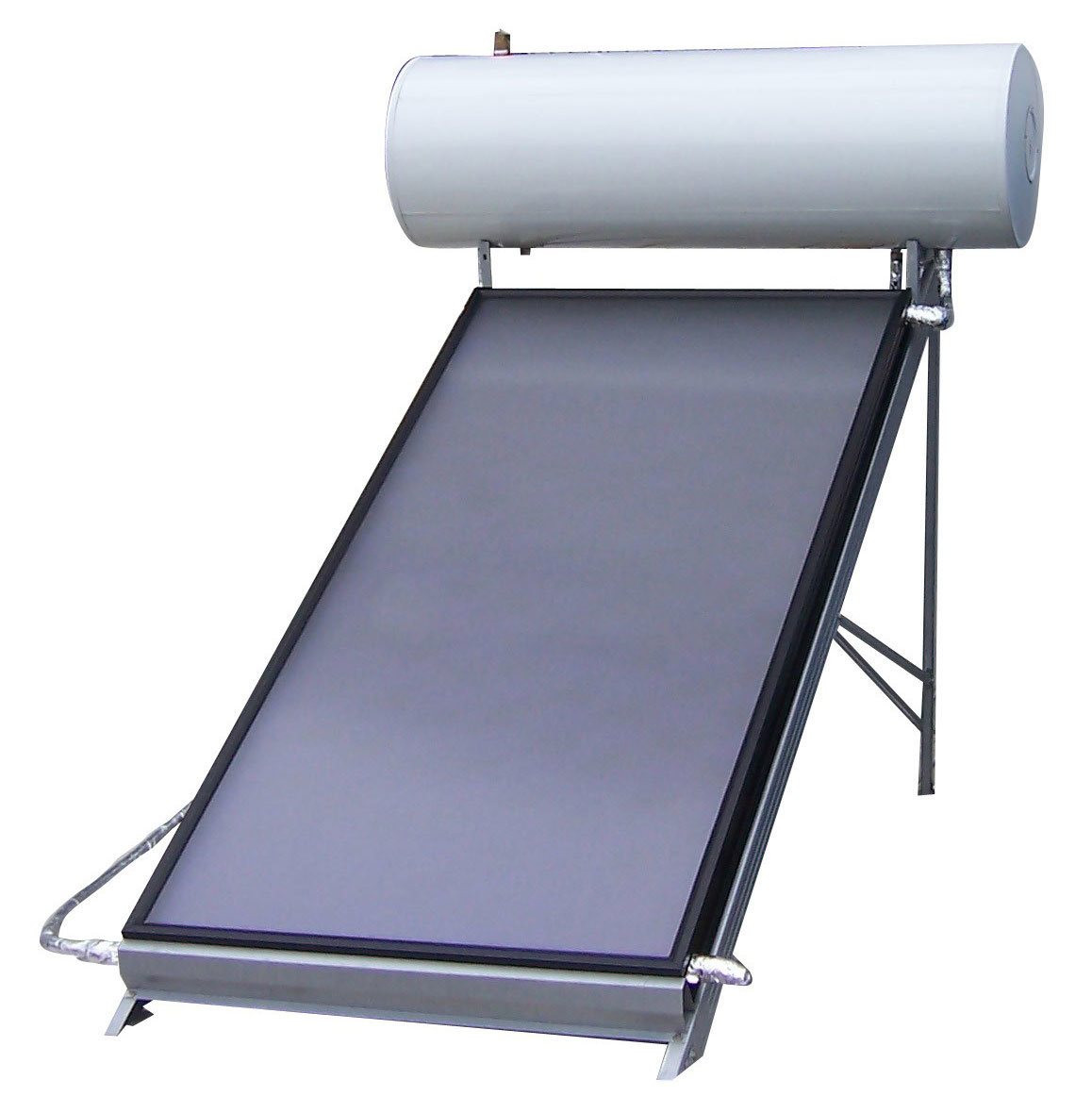 China Freestanding High Pressure Solar Water Heater Panel Photos ...