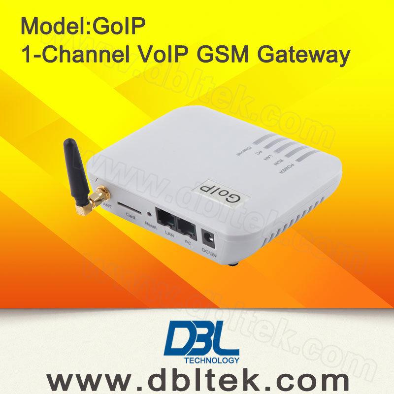 1 Channel GSM VoIP Gateway GoIP