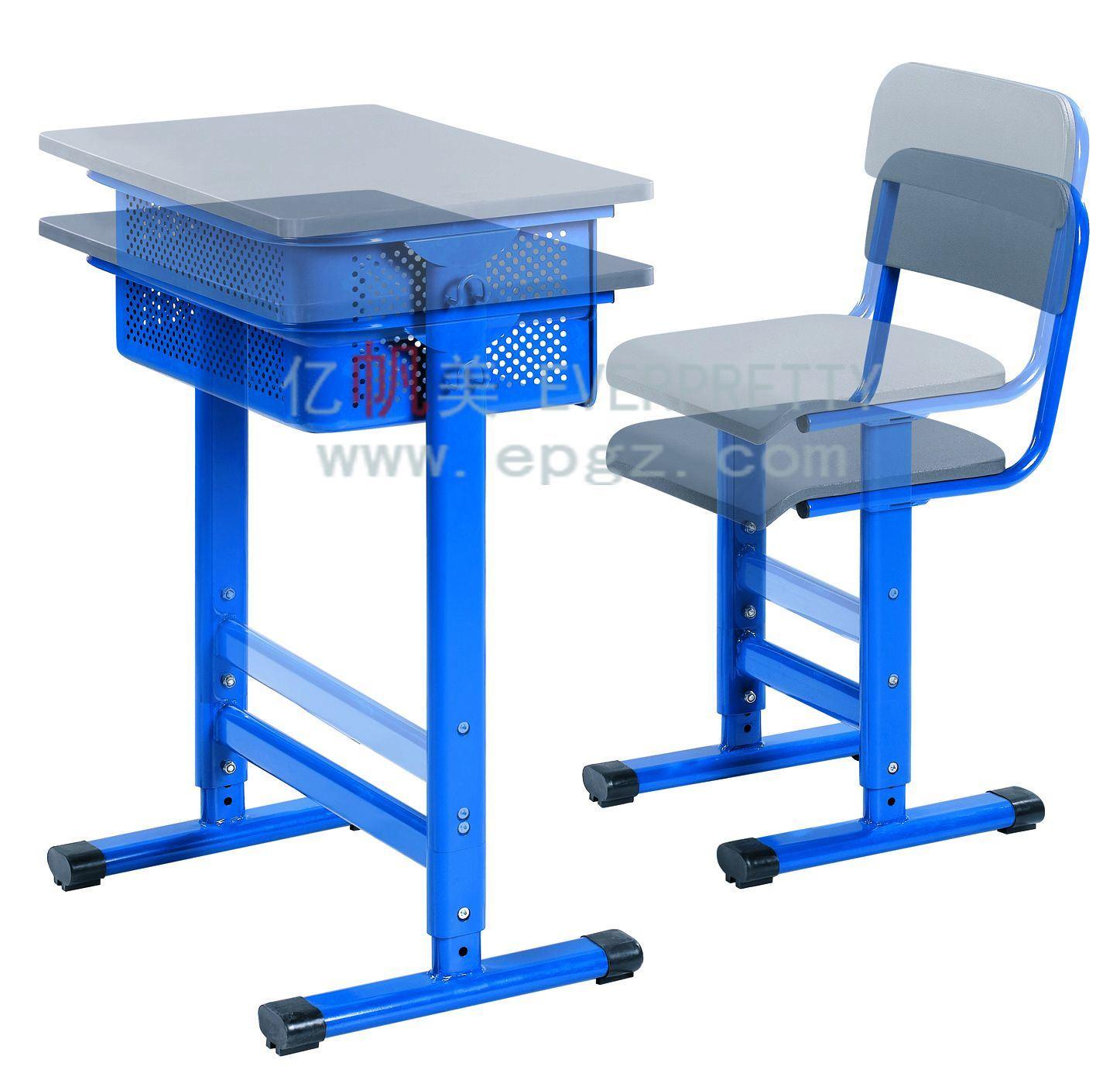 China Height Adjustable Desk Frame Adjustable School Desk Chair
