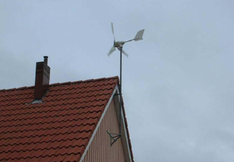 Home Small Wind Energy Turbine Generator (HY-400w)