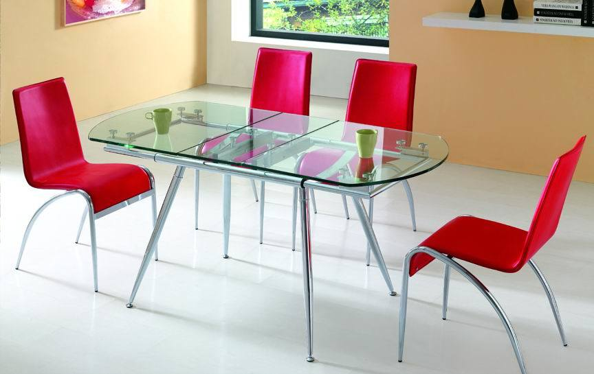 Glass Kitchen Table. Beautiful glass table