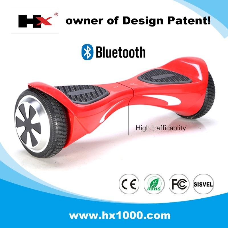 Hx Supplier Bluetooth Balancing Scooter