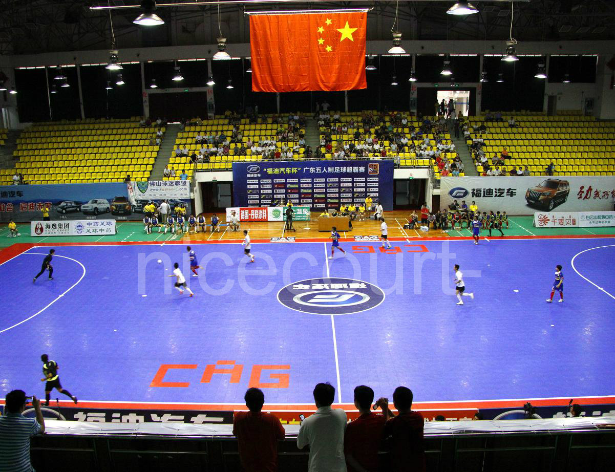 China Multi Purpose Futsal Court Basketball Court Flooring