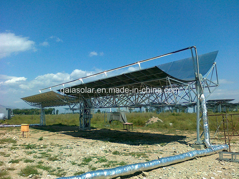 New Energy Concentratored Solar Power Csp Parabole