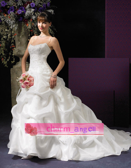 White Wedding Dress RS304