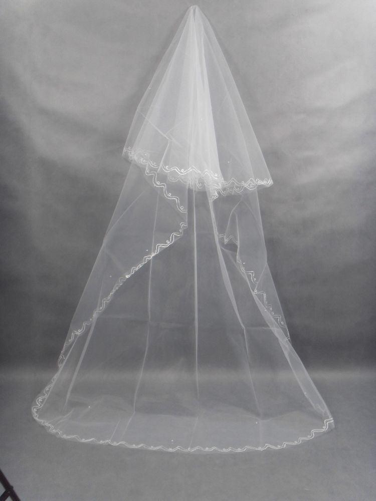 China Long Wedding Veil WA 18 Photos Amp Pictures