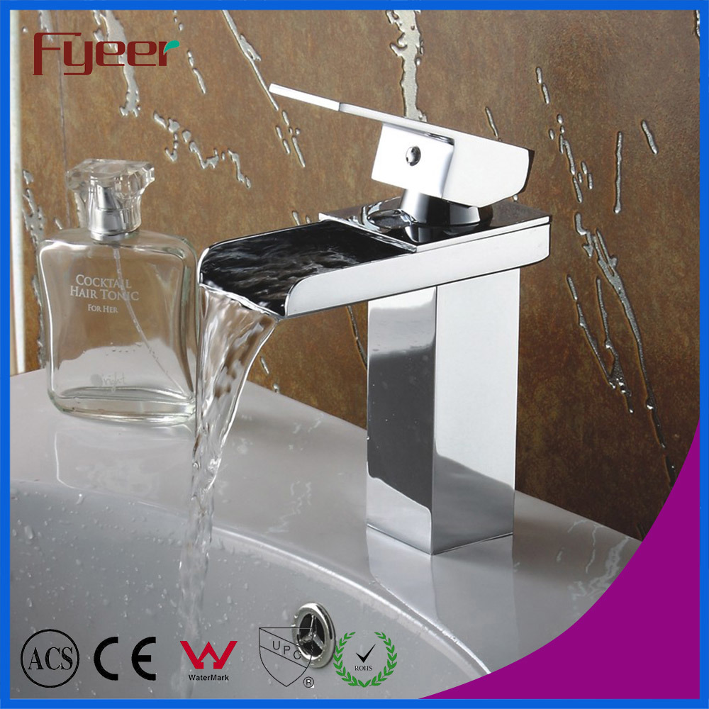 Fyeer 3004 Series Waterfall Basin Faucet Bathtub Shower Mixer