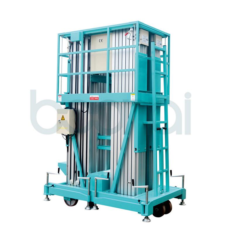Quadruple Mast Hydraulic Lift for Aerial Work