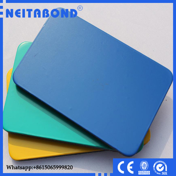 Competitive Price Kynar500 PVDF 3mm 4mm Wall Cladding Acm Aluminium Composite Material with Ce
