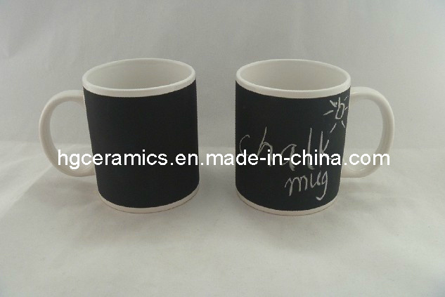 11oz Decal Paper Chalk Board Ceramic Mug