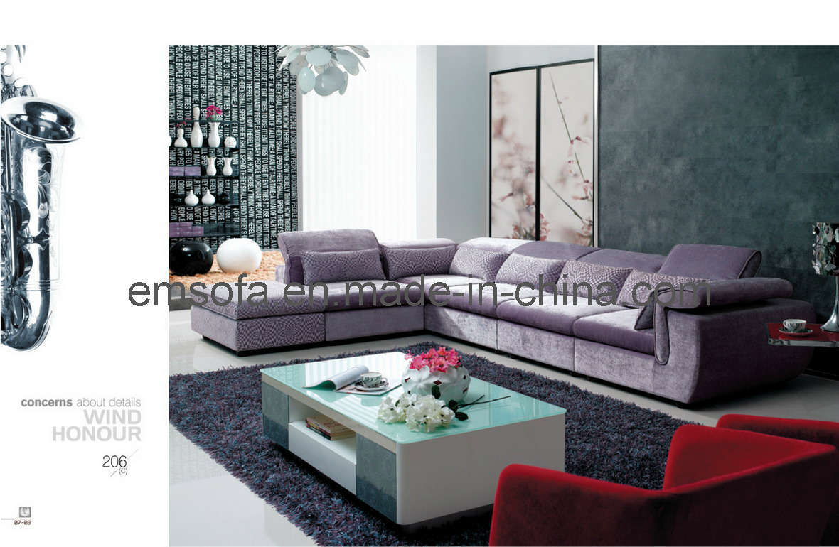 China new design fabric sofa 206 china sofa fabric sofa for China sofa design