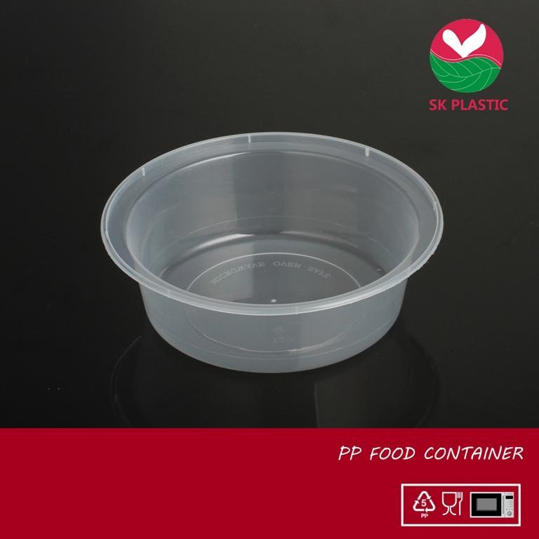 Round Plastic Food Container (729)