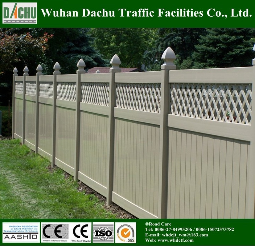 Powder Coated Engineering and Private PVC Fence