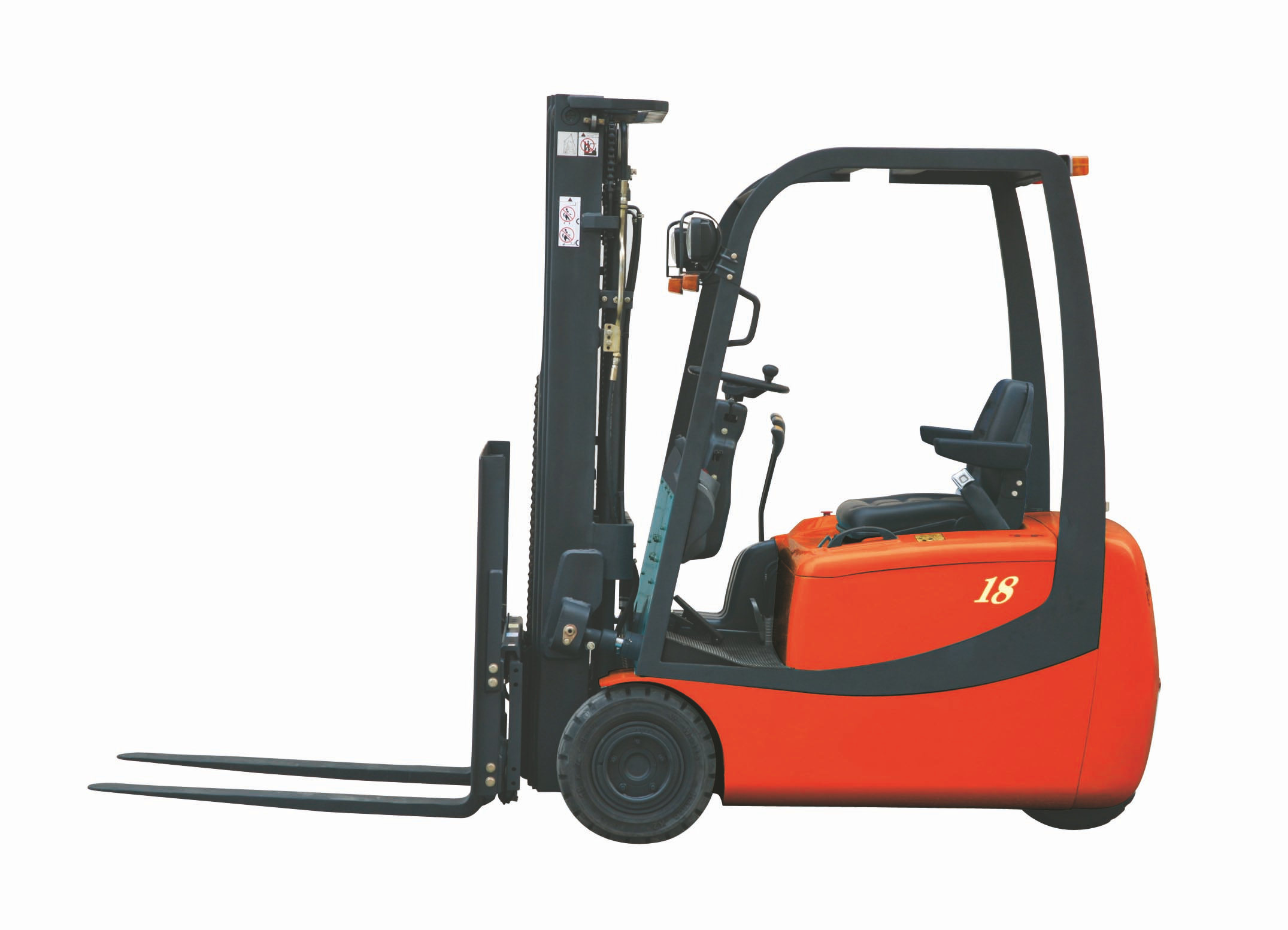 China 1to Mini Type 3 Wheel Electric Forklift Truck