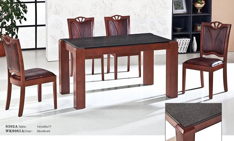 China Granite Dining Table Set S302ATable WK8061AChair China