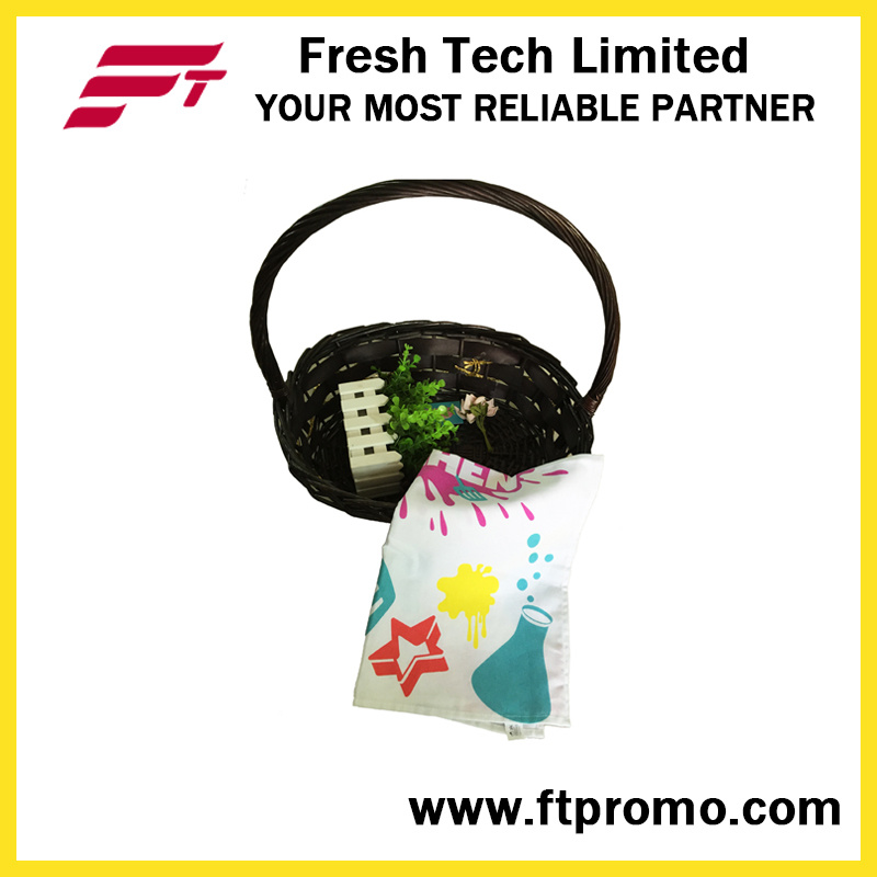 Promotional Printed Lightweight 100% Cotton Tea Towel
