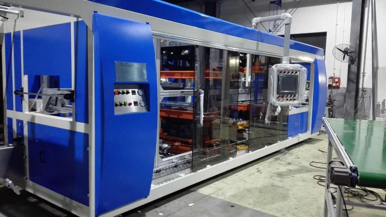 Full Automatic Multi-Station Plastic Thermoforming Machine