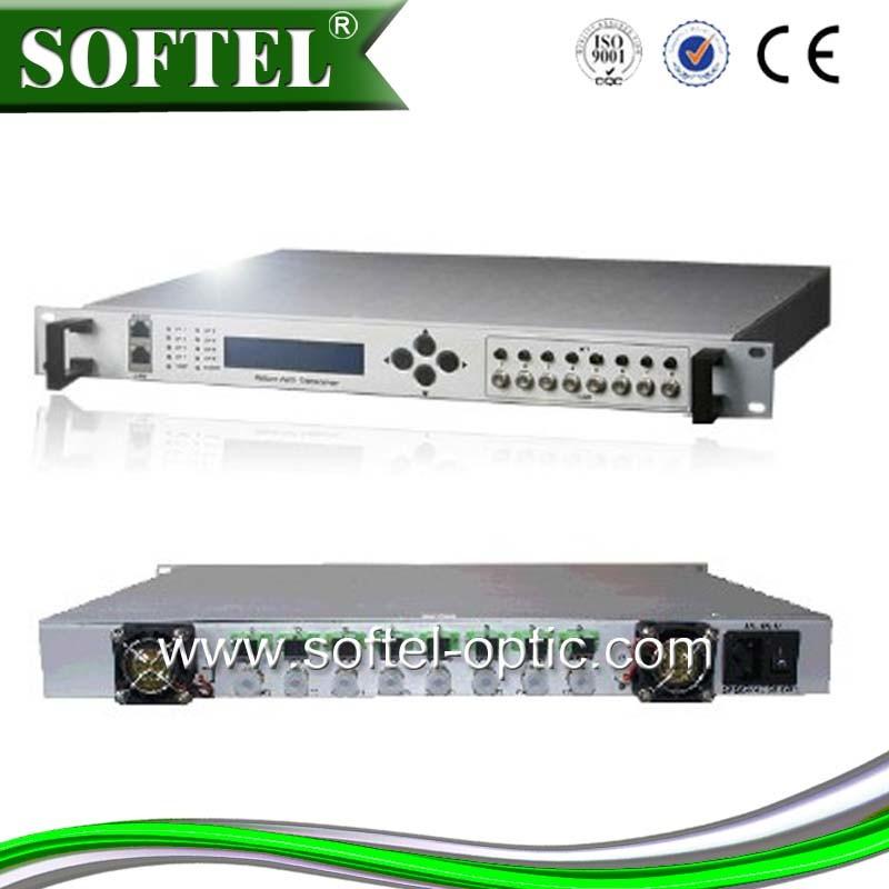 Softel 5-200MHz Sr808r 8 Way Reverse Optical Receiver