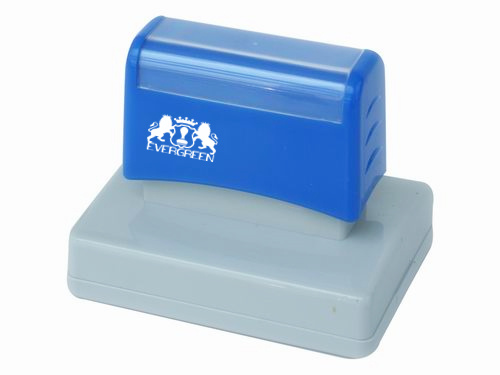 Dual Foam Pre Inked Stamp 66*85mm