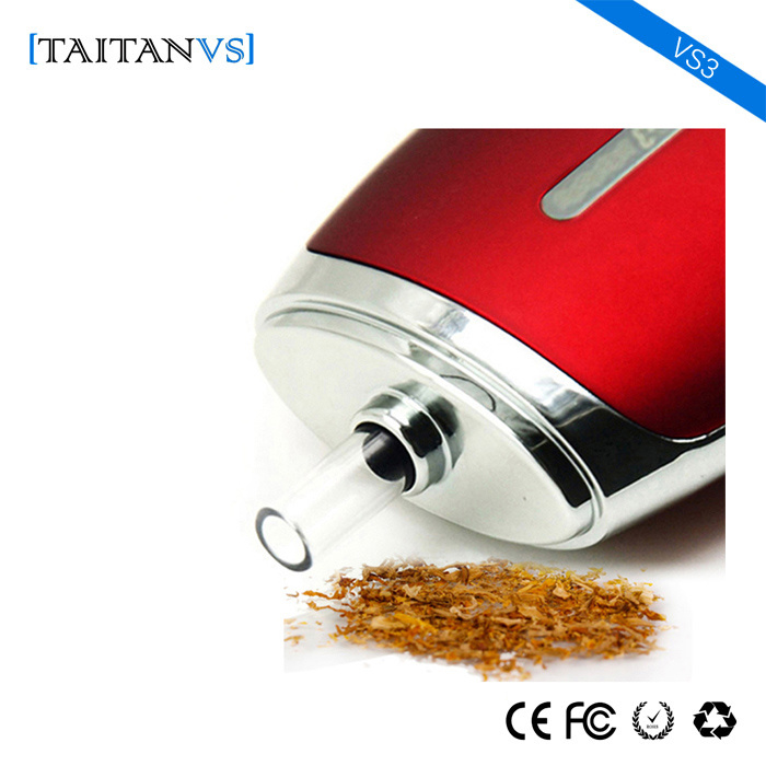 Free Sample Vs3 2000mAh Battery Dry Herb Vaporizer Electronic Cigarette Mod