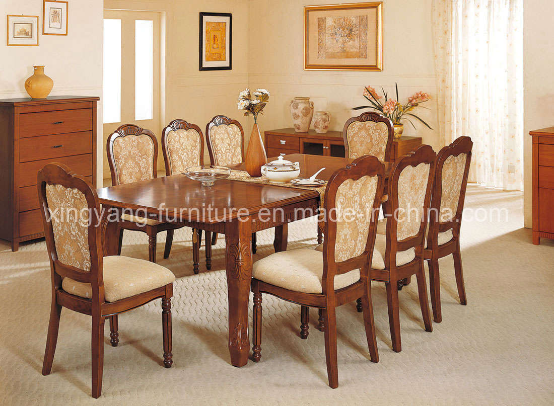 Chairs for dining room table 2017 grasscloth wallpaper for Dining table in living room pictures