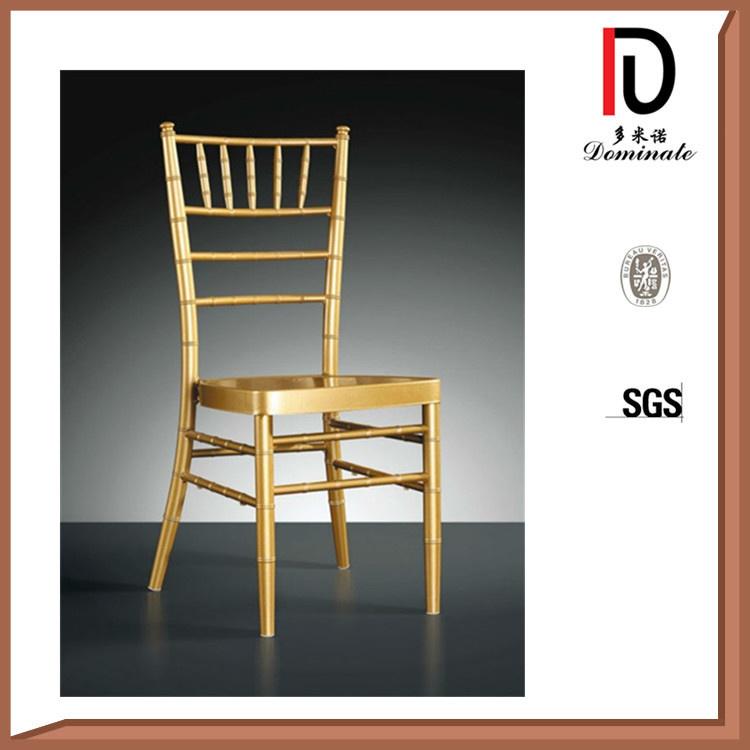 Top Quality Stylish Gold Metal Wedding Tiffany Chairs
