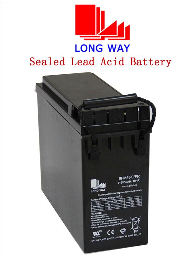12volt Front Access Sealed Lead-Acid Battery 55ah