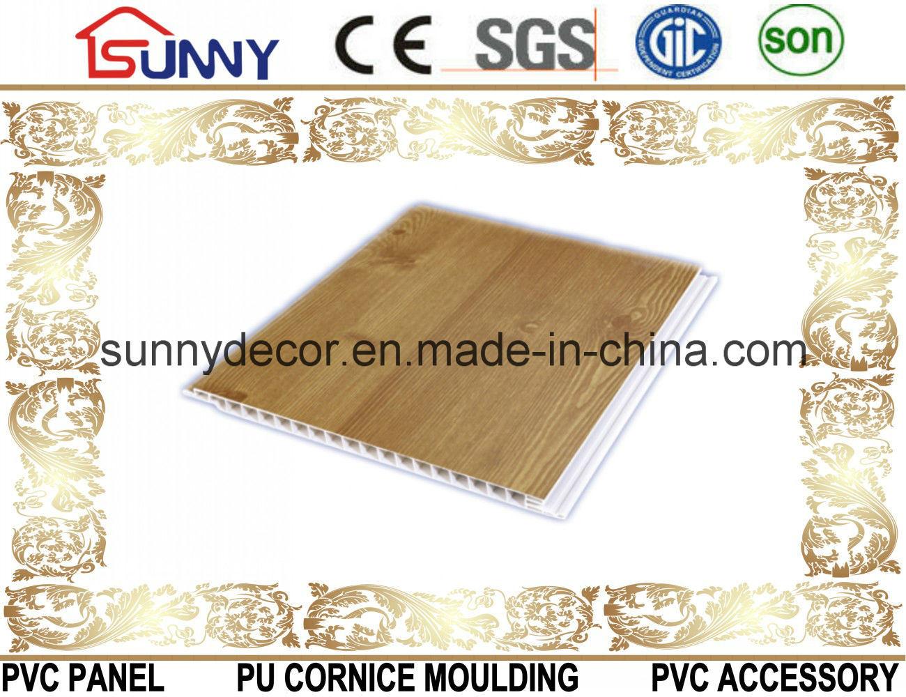 Building Materials Plastic Lamination Panel PVC Ceiling Design, Decorative Wall Panel