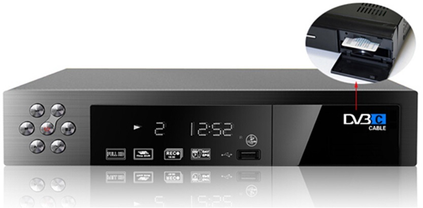 HD DVB-C Receiver with Conax