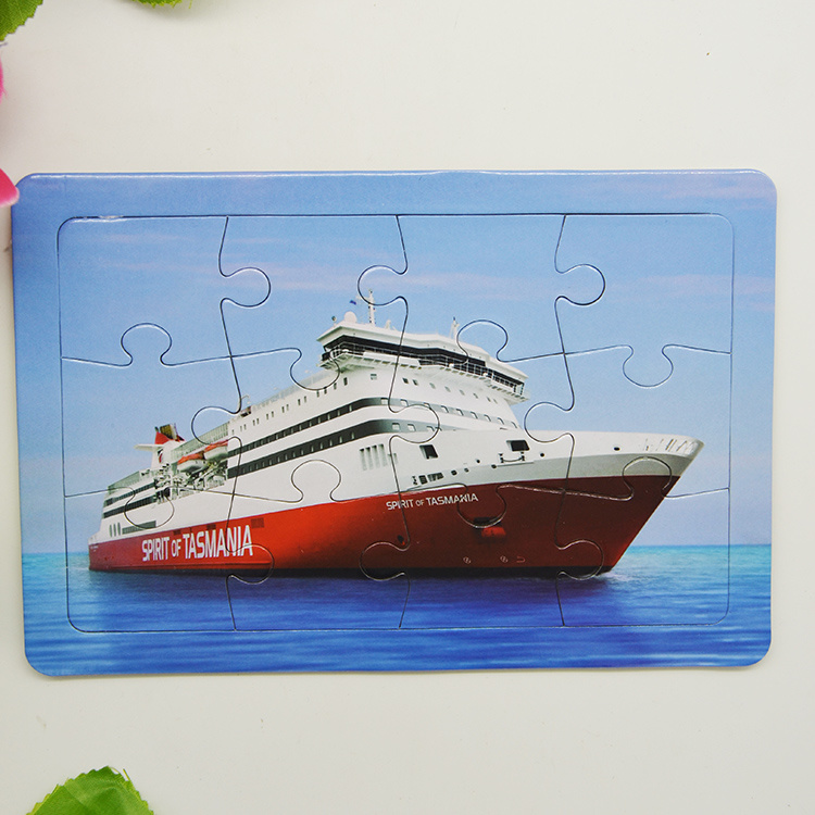 Childern Education Puzzle Fridge Magnet Sticker