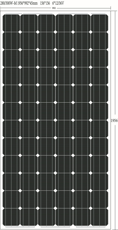 TUV ISO Ce High Effiency and Salable Mono 300watt Solar Panels for China Best-Selling Brand