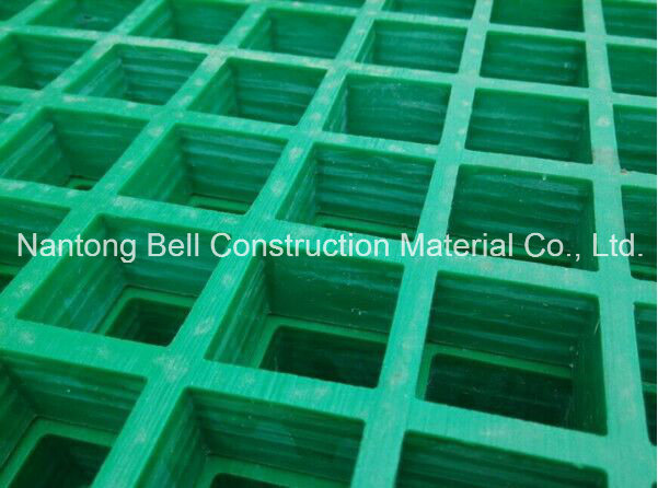 FRP/GRP Plastic Grating, Fibreglass/Glassfiber Gritted or Concave Gating.
