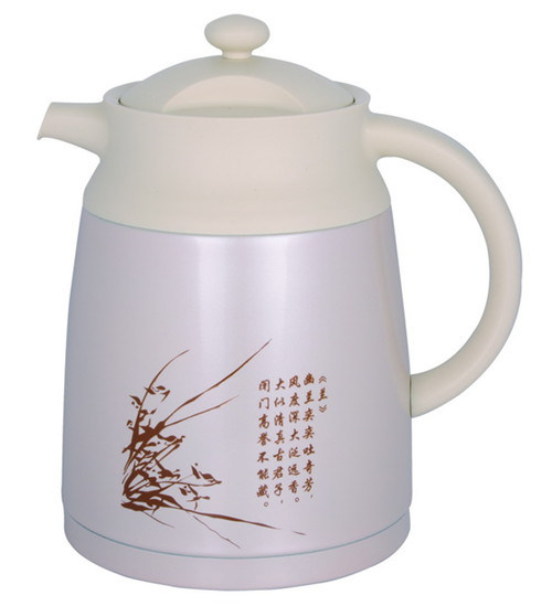 Double Wall Stainless Steel Vacuum Teapot Svp-1500CH