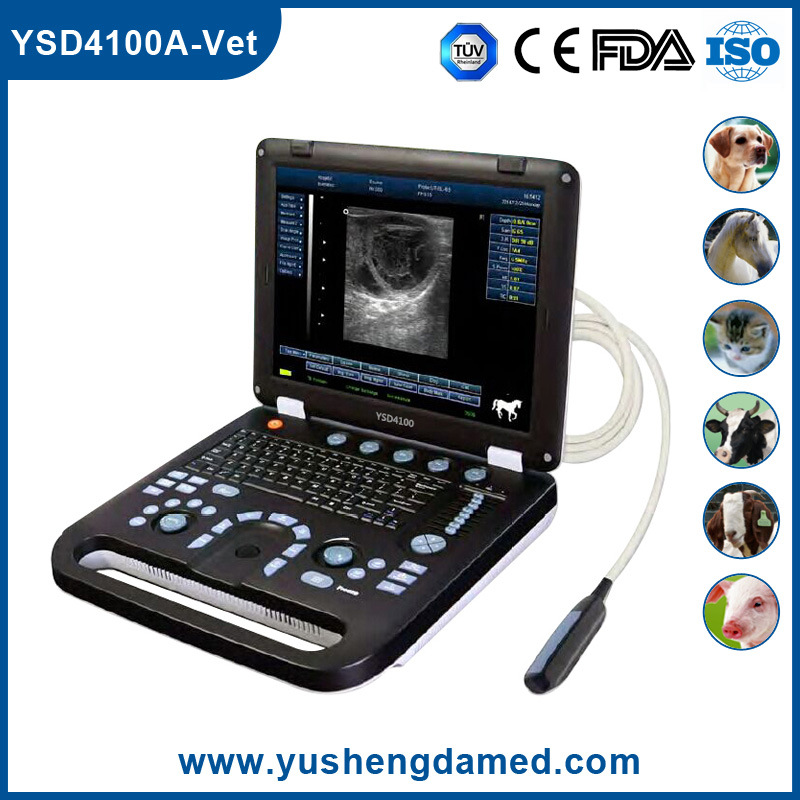 Ce Approved Veterinary Diagnosis Scanner Ultrasound System
