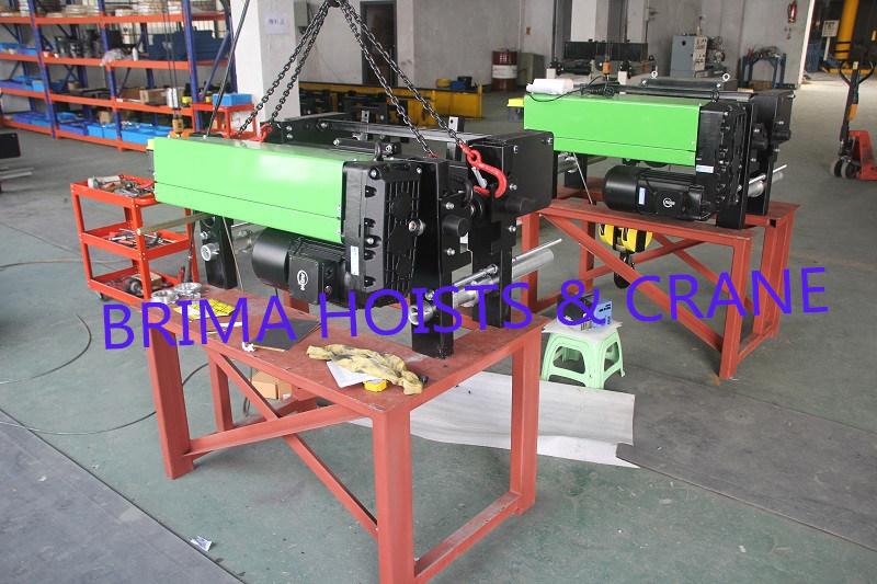 2m/M5 European Type Electric Wire Rope Hoist 3ton