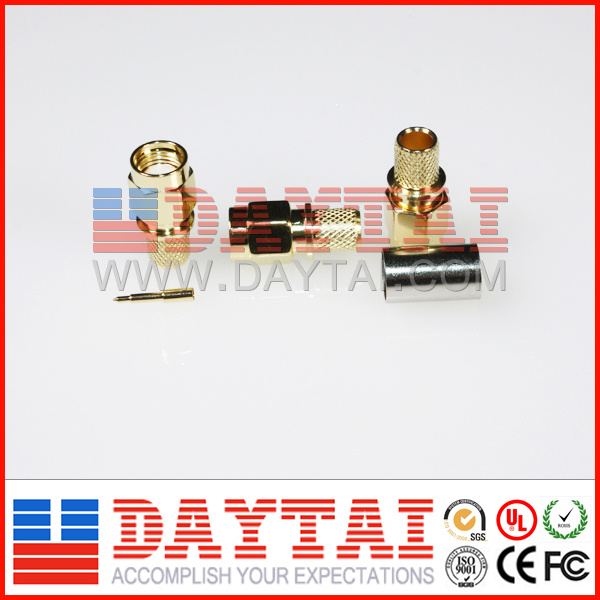RF Coaxial SMA Male Connector Gold Plating Waterproof Mini SMA Connector