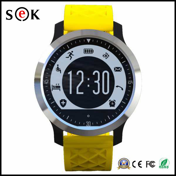 2016 Waterproof IP68 Bluetooth Sport Smart Watch with Heart Rate Monitor Supporting Swimming