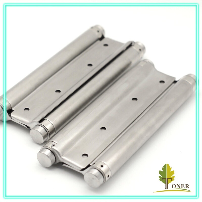 Stainless Steel 201 Spring Hinge/ 8-Inch (1.5mm) Double Action Spring Hinge