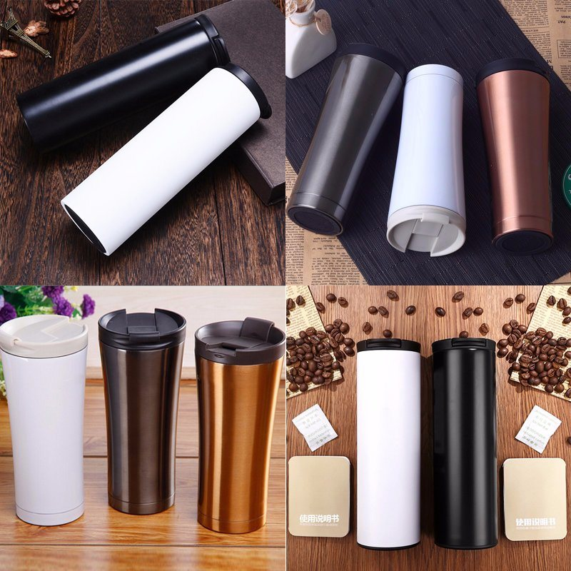 Double Walls Stainless Steel Thermos Coffee Mug
