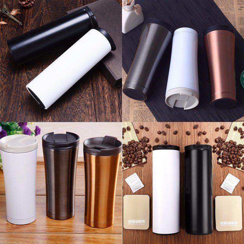 Stainless Steel Thermos Mug Travel Coffee Mug Coffee Tumbler Stainless Thermos