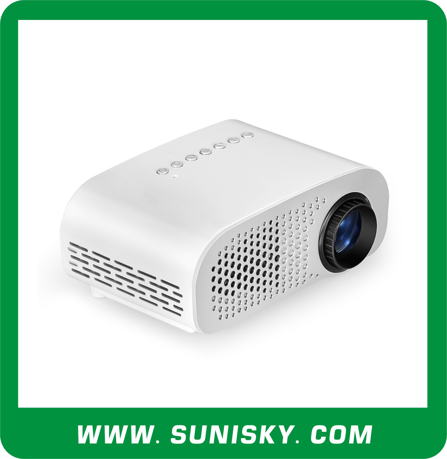2016 Trending Products Portable Mini Projectors with HDMI Ports for Business Meeting (SMP8802)