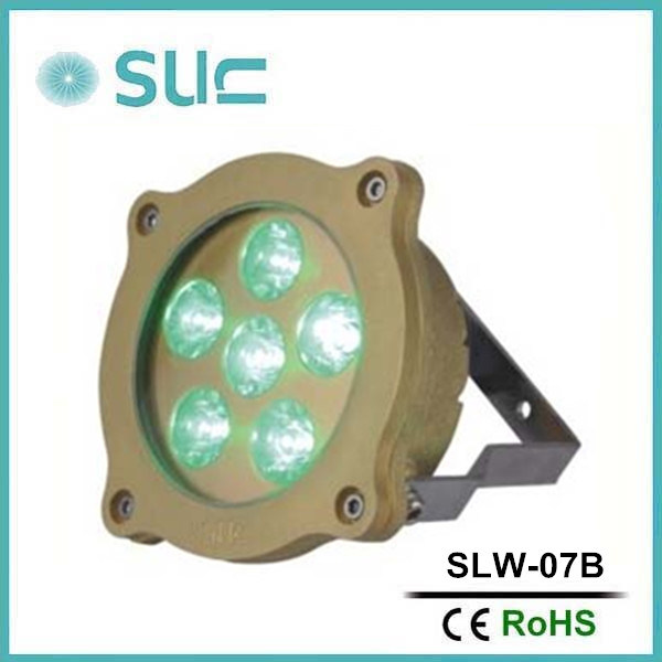 Brass Body 6*3W LED Swimming Pool Lighting with Waterproof