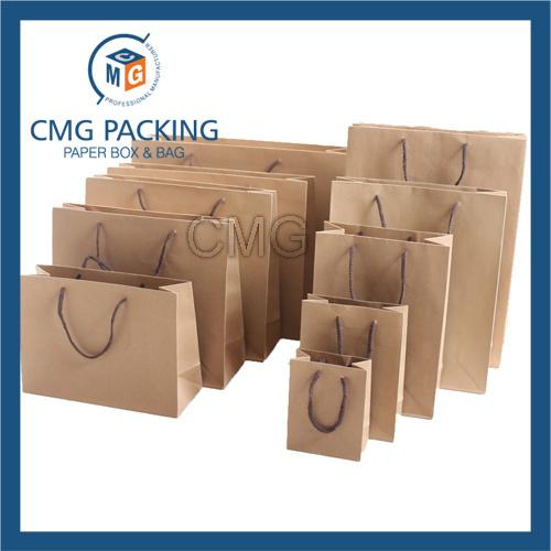 No Printing Original Recycled Kraft Paper Packaging Bag (DM-GPBB-176)