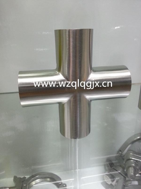 304/316L Food Grade Stainless Steel Sanitary Welded Cross